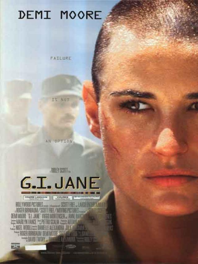 Ate O Limite Da Honra G I Jane 1997 Peliculas Cine Gi Jane
