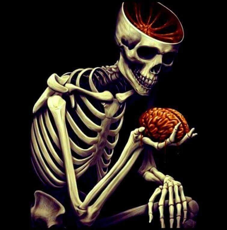 Картинки скелетиков с надписями