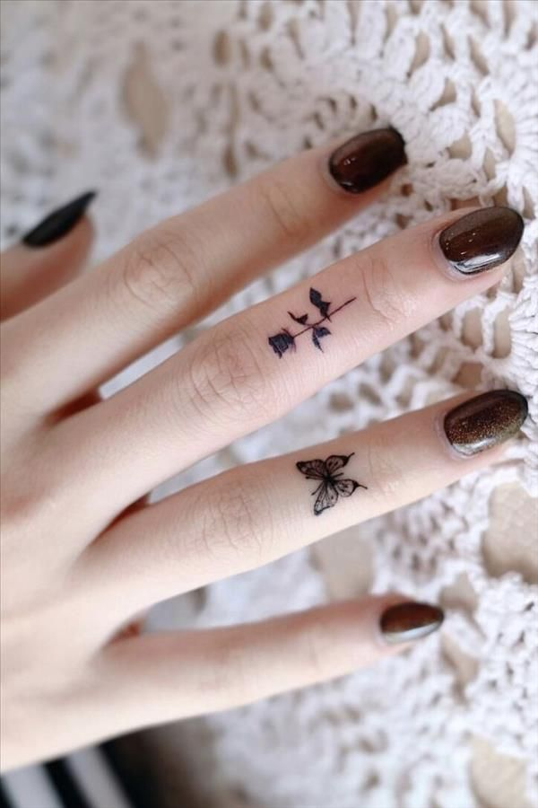 Popular Fashion Finger Tattoos Give You A Free Sou