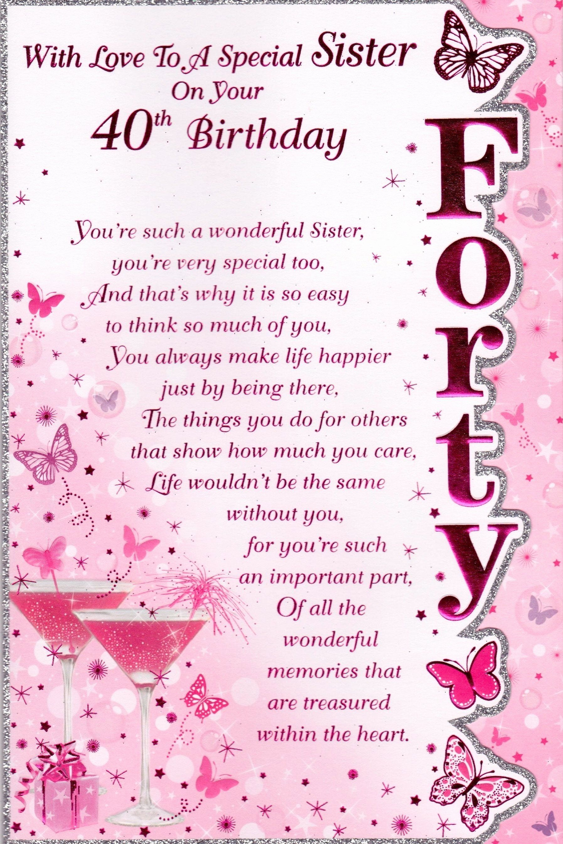Pin On Sister Birthday Quotes