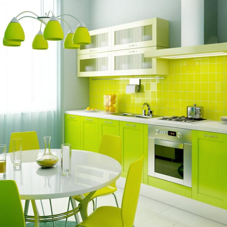 Tipmoncayo Para La Cocina Usa Colores Vivos Y Energeticos En
