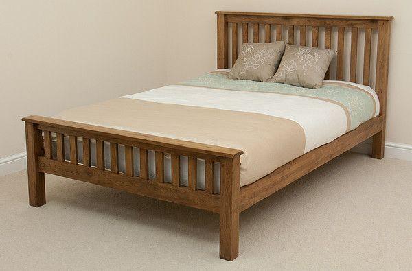 £439  Original Rustic Solid Oak 5ft King-Size Bed | Bedroom Furniture