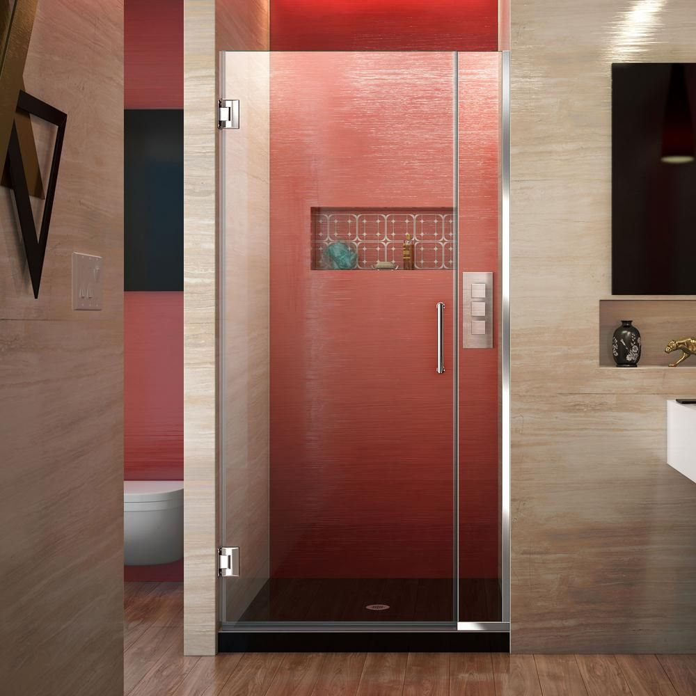 Dreamline Unidoor Plus 29 5 To 30 In X 72 In Frameless Hinged