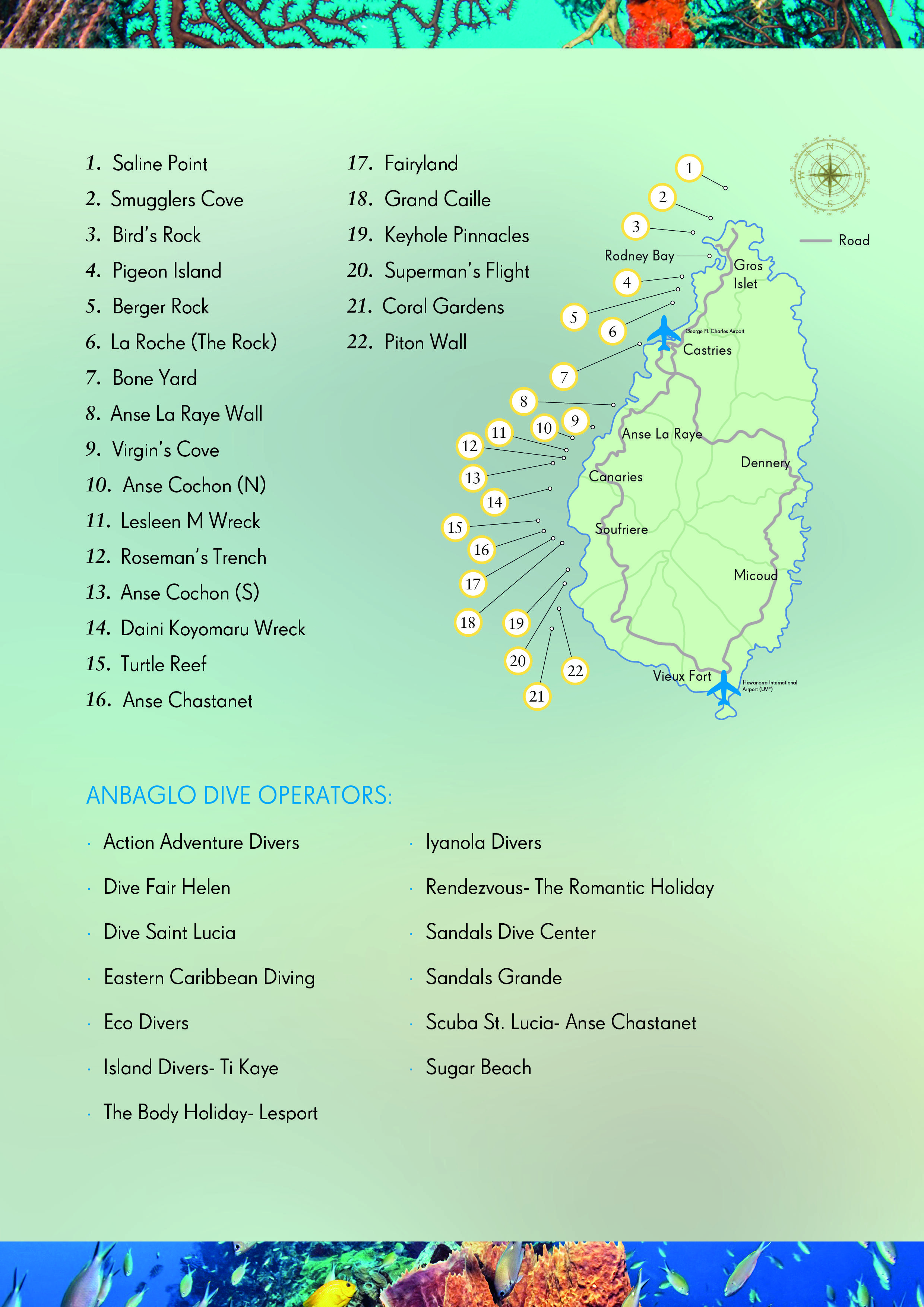Saint Lucia   Diving, Diving course, Coral garden on st. lucia la toc map, british virgin islands, st. lucia country map, costa rica map, santa lucia island on map, turks and caicos islands, suriname map, world map, hotels st. lucia fl map, caribbean map, mexico map, st. lucia flag map, cayman islands, st. lucia climate map, bhutan map, st. lucia political map, antigua and barbuda, st. lucia island resorts map, st lucia satellite map, barbados map, the bahamas, vigie beach map, trinidad and tobago, serbia map, sri lanka map, saint kitts and nevis, belize map,