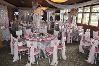 layout pinksilver wedding future Pinterest Chiavari chairs