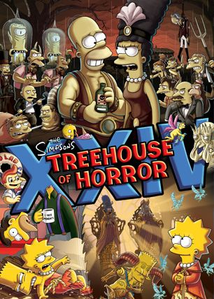 Treehouse of Horror Art Print size 4x6 inches The Simpsons