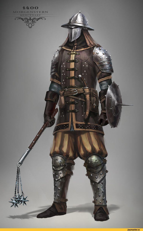 Fantasy Medieval Knight Max Yenin,art,арт,�...