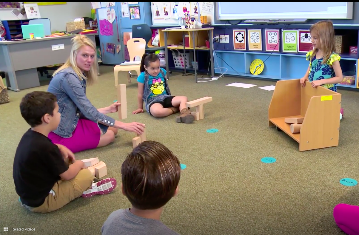 How Playing With Blocks Can Teach Spatial Reasoning Skills