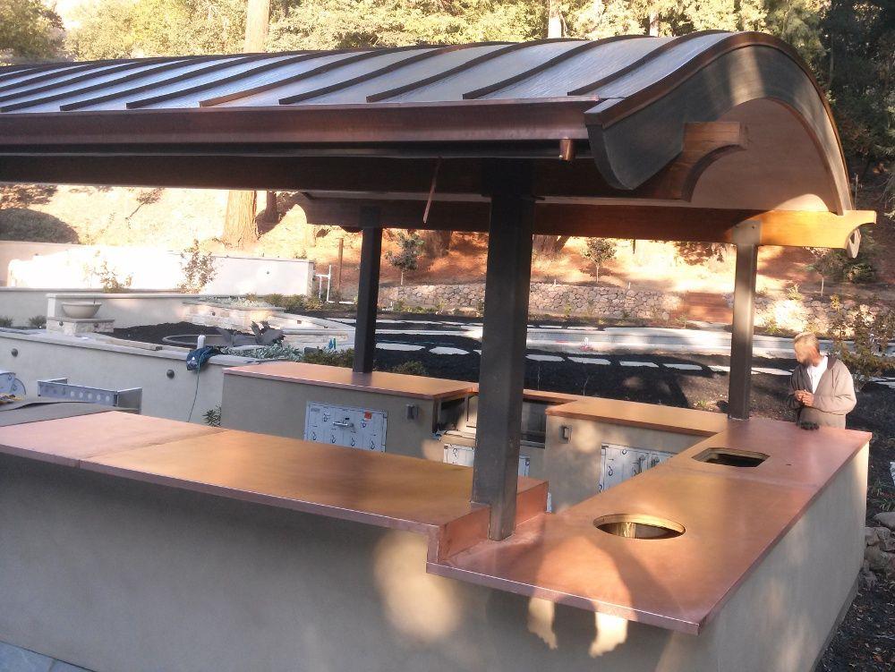 Outdoor Copper Countertops Google Search