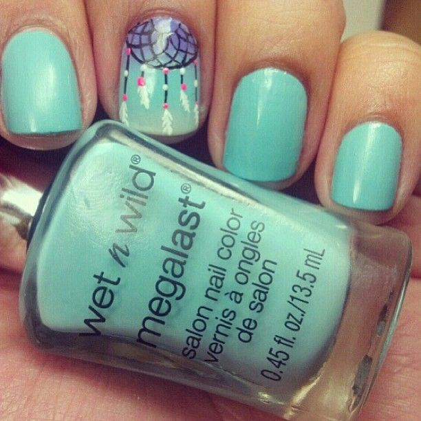 Catch all of your dreams! #nails #colorpop #wetnwild #wildaboutla ...