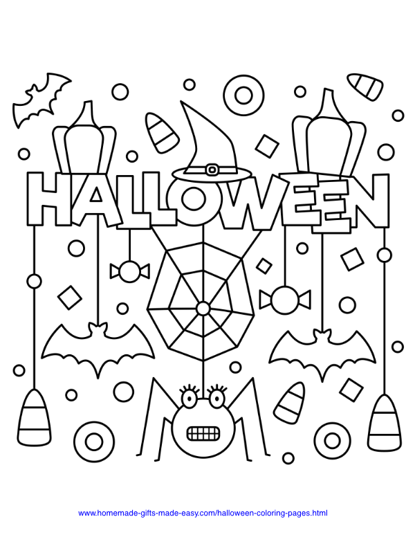 75 Halloween Coloring Pages Free Printables Halloween Coloring Halloween Coloring Pages Free Halloween Coloring Pages