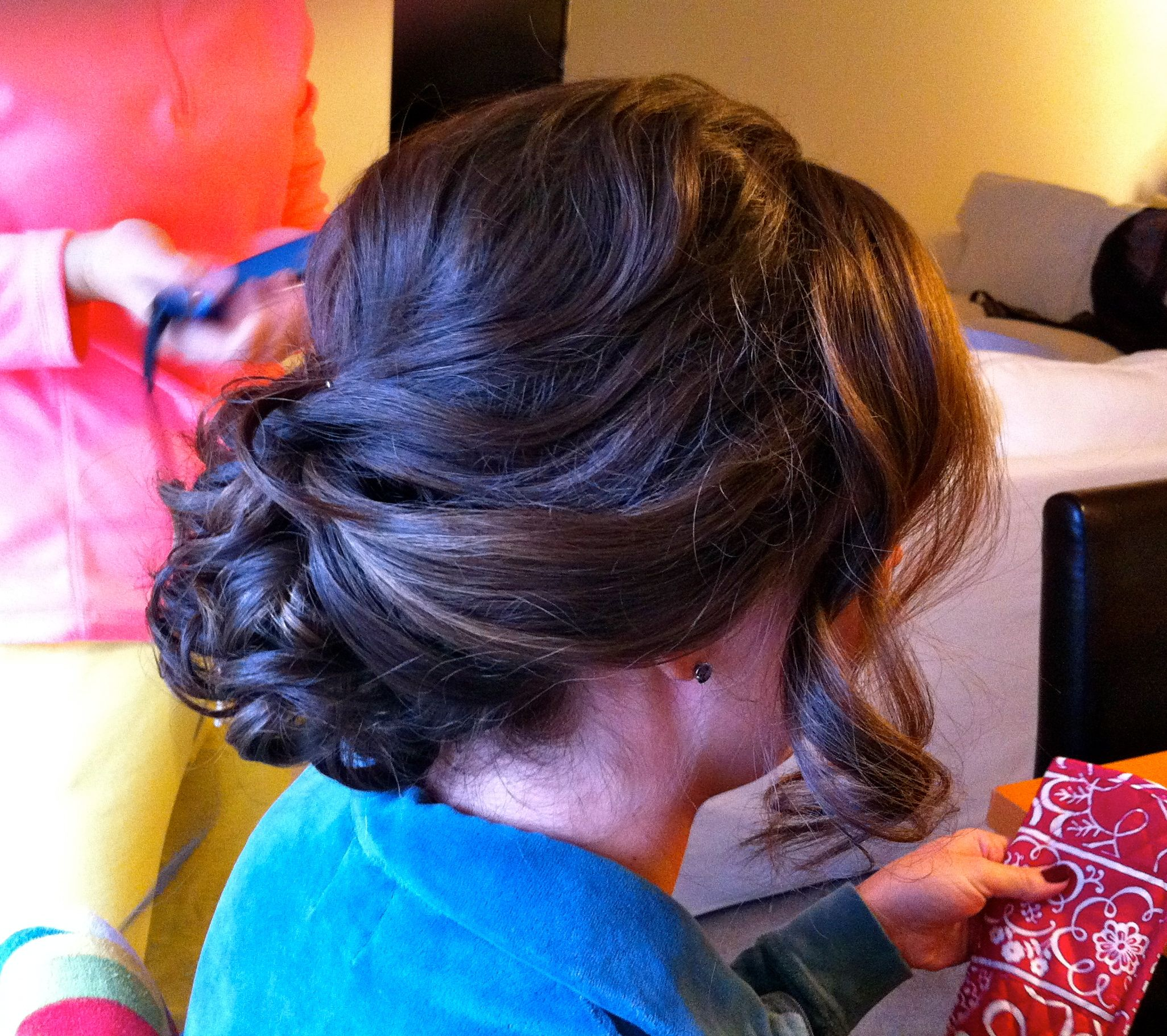 My hair thanks to fiona munro hair up pinterest formal updo