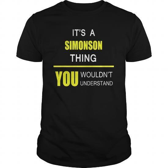 Awesome Tee Team SIMONSON Legend tee shirts T shirts
