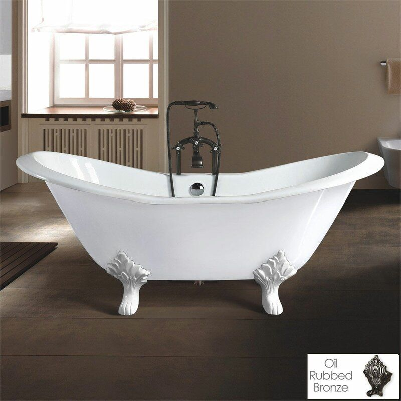 Grace 72 X 30 Clawfoot Soaking Bathtub In 2019 Soaking