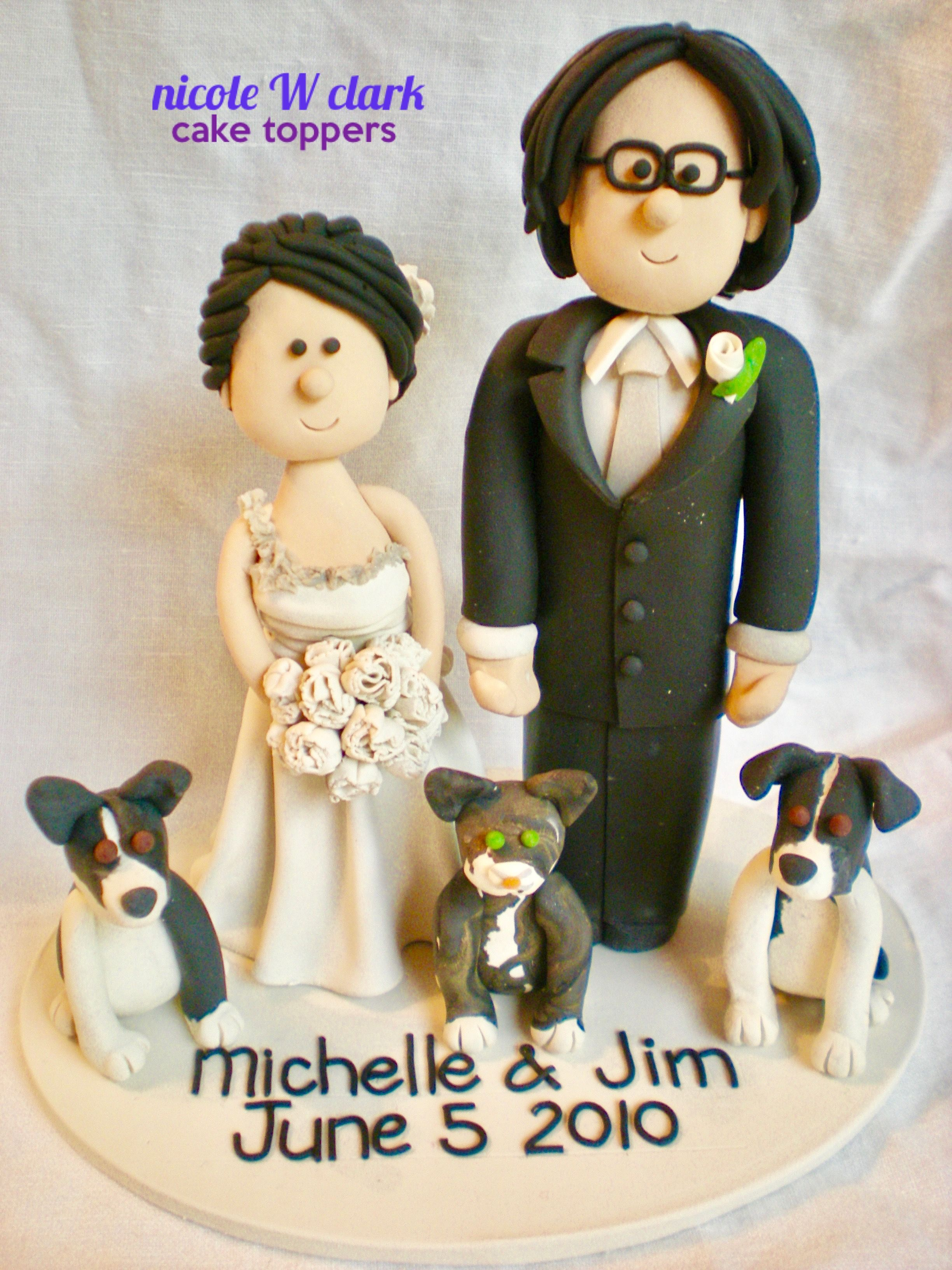 Chinese bride and groom cake toppers asian custom made cake toppers