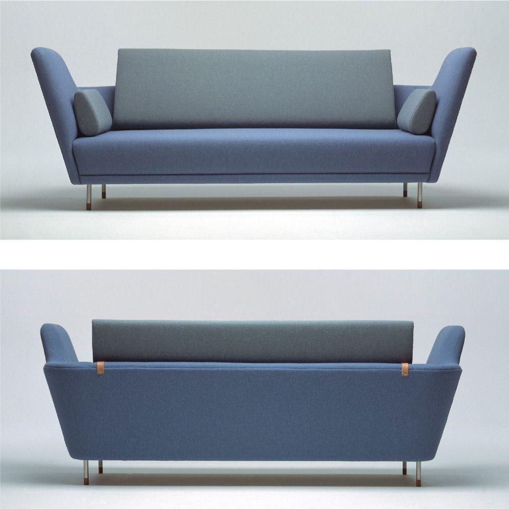 Finn juhl model 57 sofa mid century pinterest danish for Mobili danesi