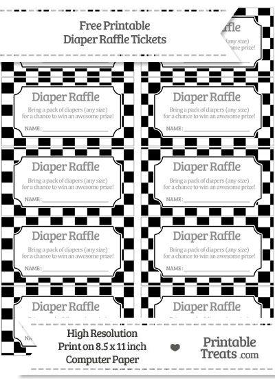 raffle ticket printing free