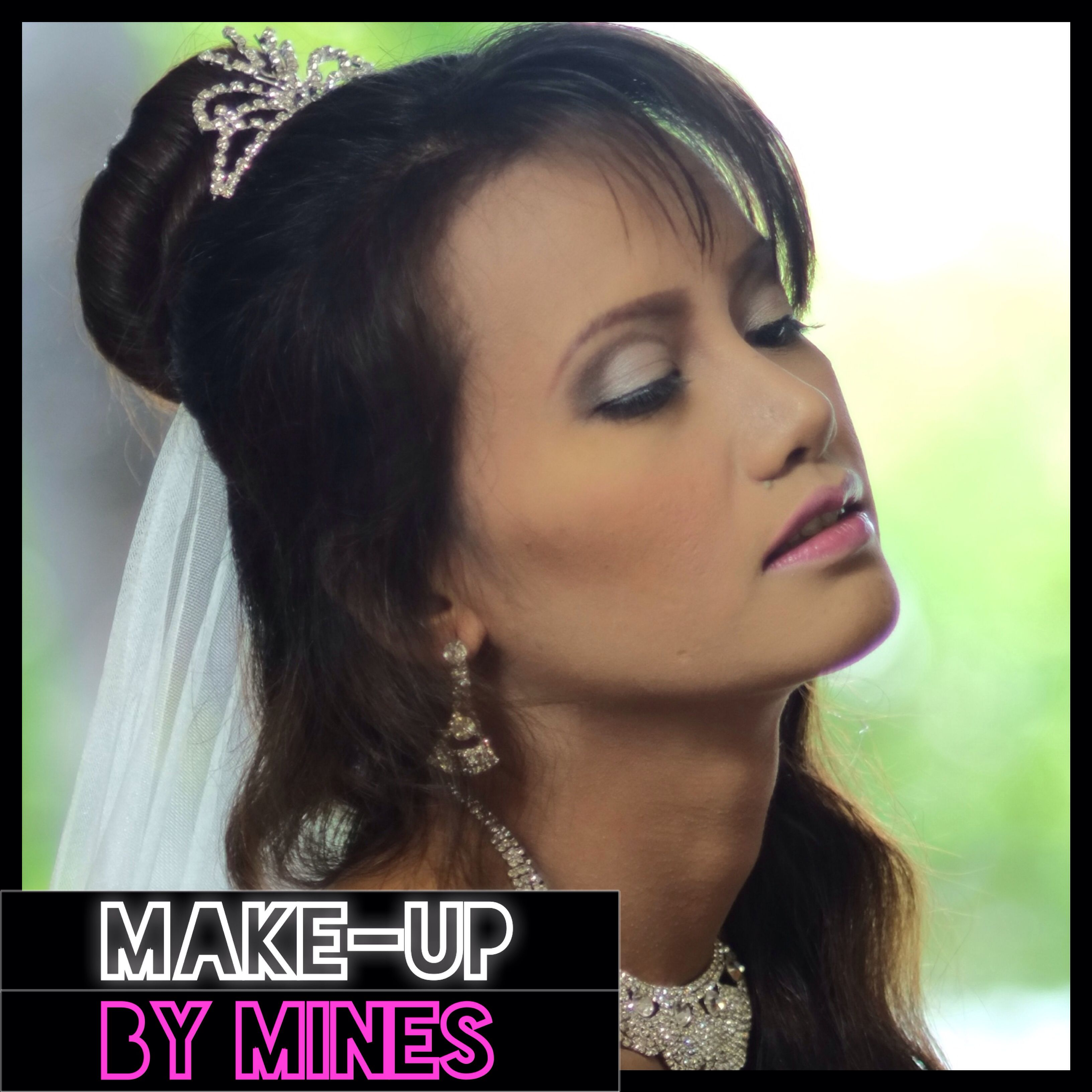 Bridal Makeup  For more of my works, log in to www.facebook.com/makeupbymines or follow me on instagram: makeupbymines #bride #bridalmakeup #makeup #wedding #bridal