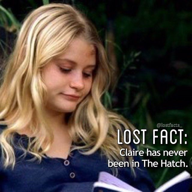 hi! it's jess from @lostsceness and this is my other account just for facts😊 #lost #lostshow #lostseries #losttv #losttvseries #losttvshow #clairelittleton #lostfact #thehatch #theswan #oceanic815 #flight815 #emiliederavin @emiliede_ravin