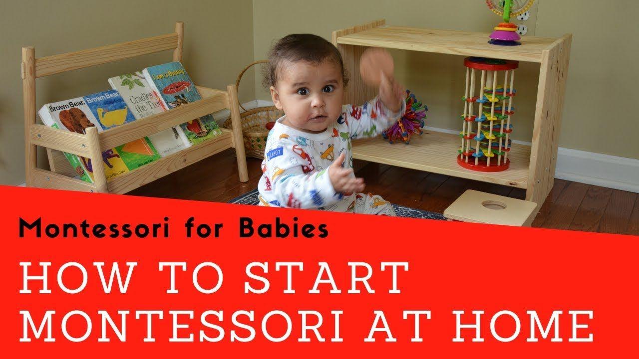 How to start montessori at home montessori for babies
