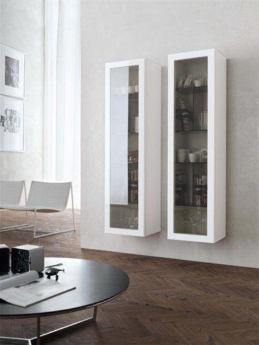 Scaffale da parete / moderno / a vetrina CASABLANCA Zanette ...