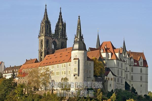 Albrechtsburg Castle - Meissen , Saxony near Dresden, Germany
