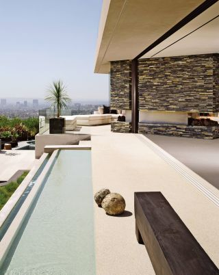modern pool and xten architecture in los angeles, california