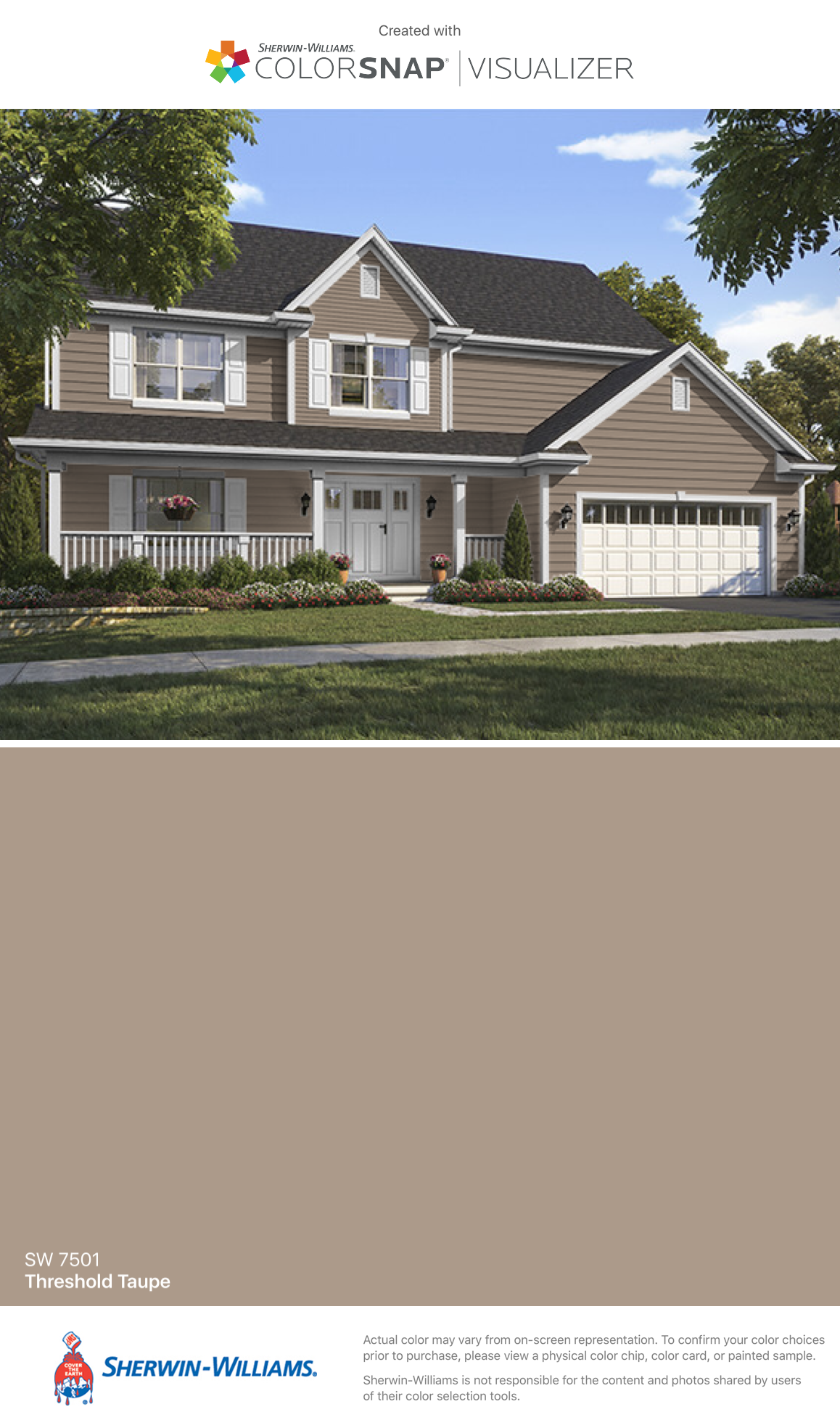 I Found This Color With Colorsnap Visualizer For Iphone By Sherwin Willi Gray House Exterior Sherwin Williams Exterior House Colors Grey Exterior House Colors