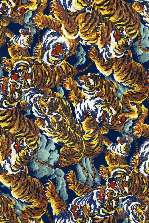 patternvomit: kenzo tiger print | Pattern. | Tiger print ...