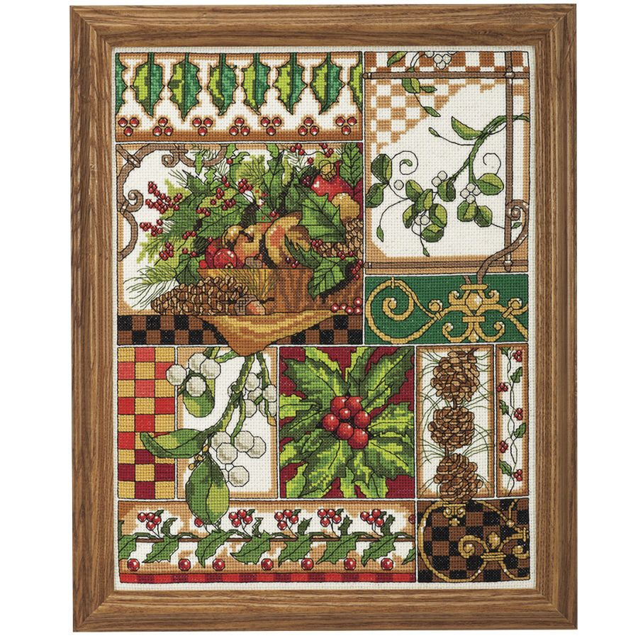 Winter Montage - Cross Stitch, Needlepoint, Embroidery Kits – Tools and Supplies