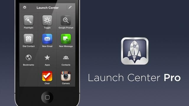 Launch Center Pro by App Cubby. Coming soon the the App Store!