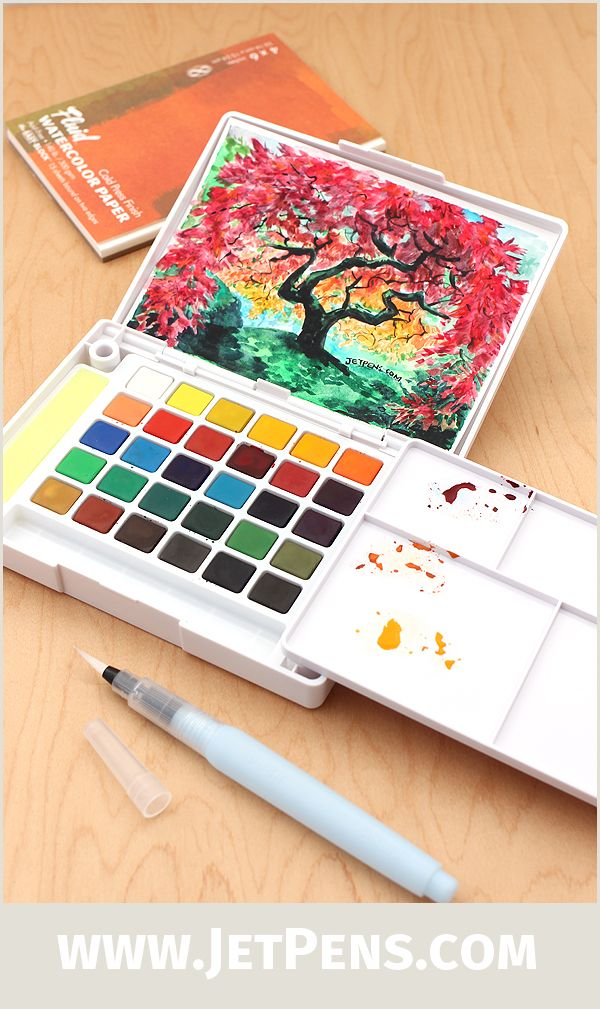 The Ultra Portable And Blendable Sakura Koi Watercolor Field