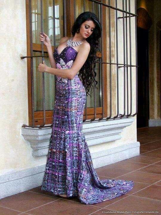Vestidos elegantes largos guatemala
