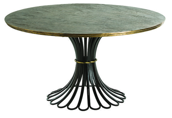 Draco Dining Table From Arteriors Unique Dining Tables Dining Table Dining Table In Kitchen