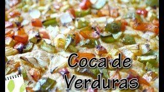 Muchas Recetas - YouTube Coca de Verduras