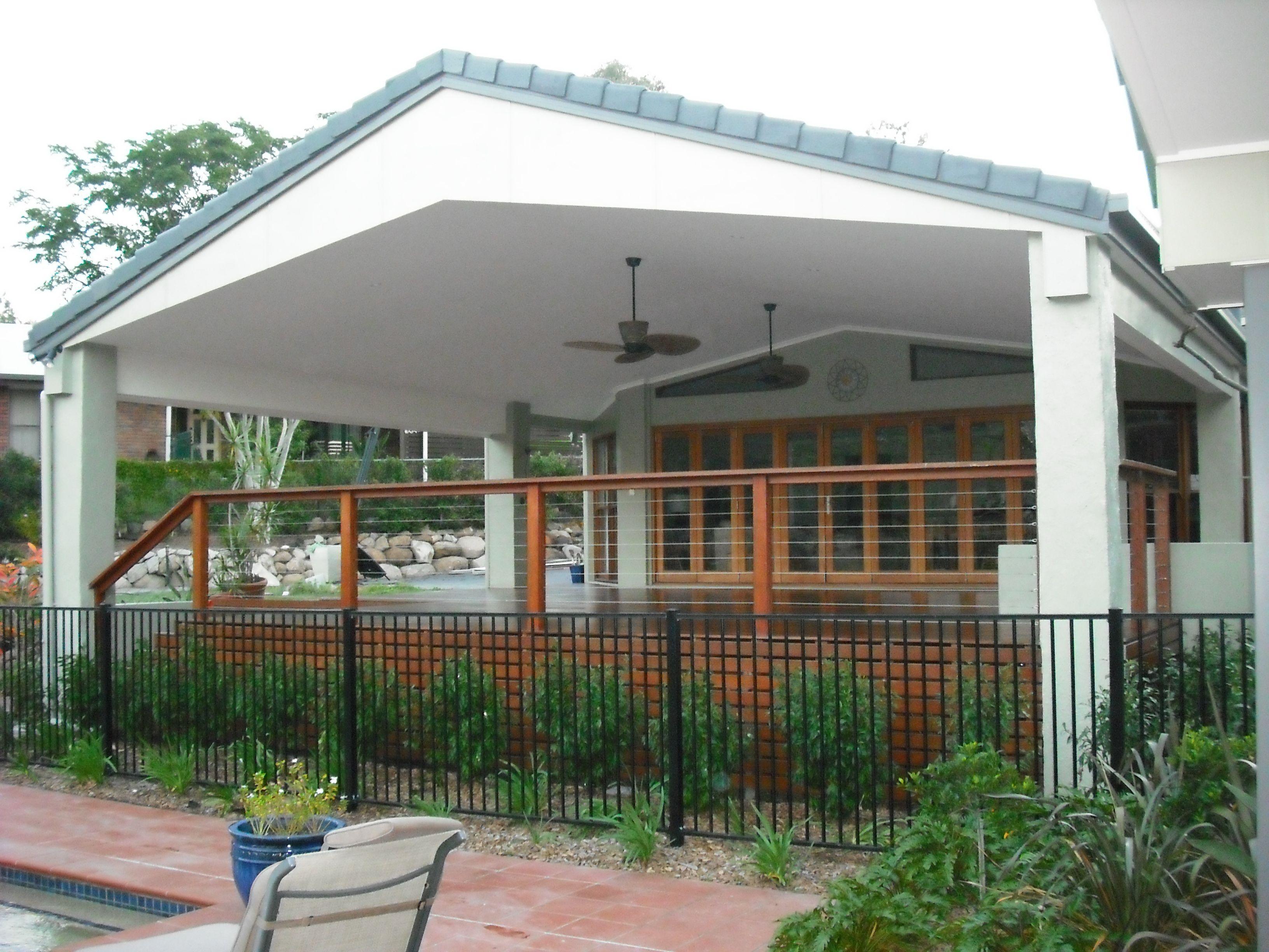 House Deck Ideas Scissor Truss Ceiling Scissor Truss Timber Roof Roof Deck