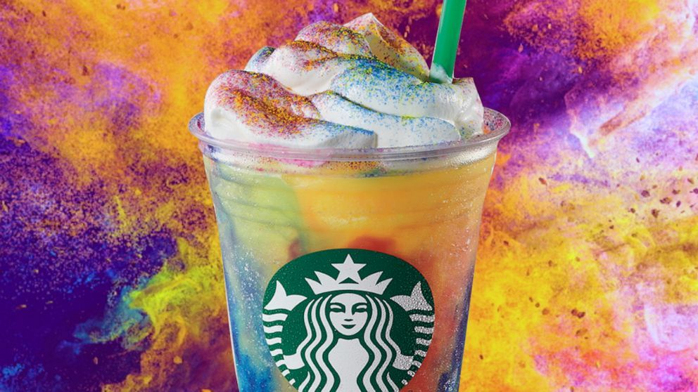 Starbucks TieDye Frappuccino in 2020 Starbucks secret