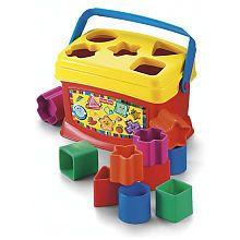 Fisher Price Baby S First Blocks Fisher Price Baby Fisher Price Baby Toys Baby Toddler Toys