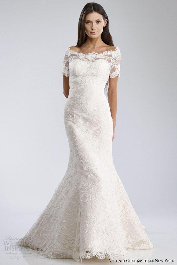 Antonio Gual for Tulle New York Fall 2014 Wedding Dresses — Mariposa ...