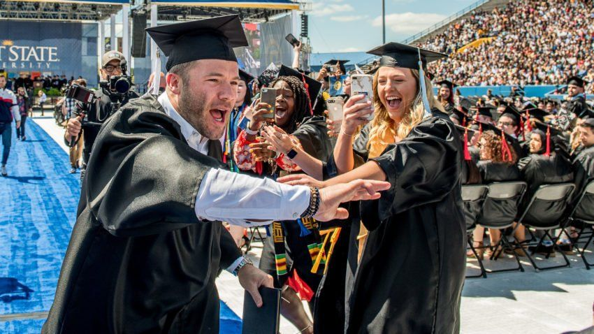 We Did It Watch Julian Edelman Graduate From Kent State University Julian Edelman Edelman Kent State University