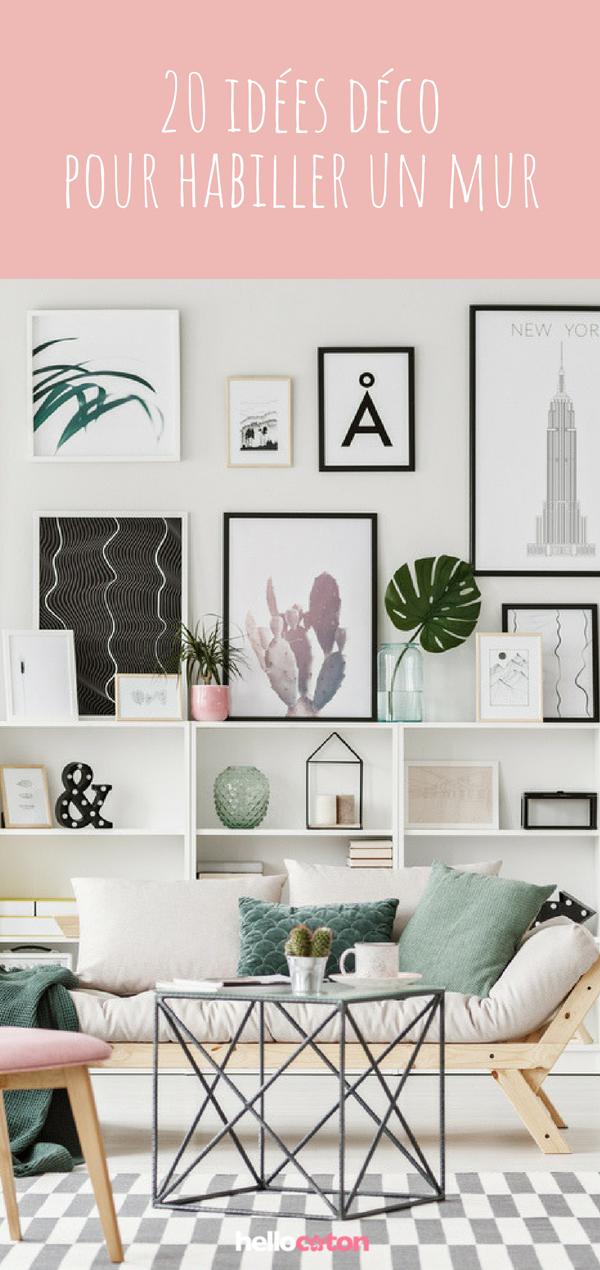 24++ Habiller un mur blanc chambre trends