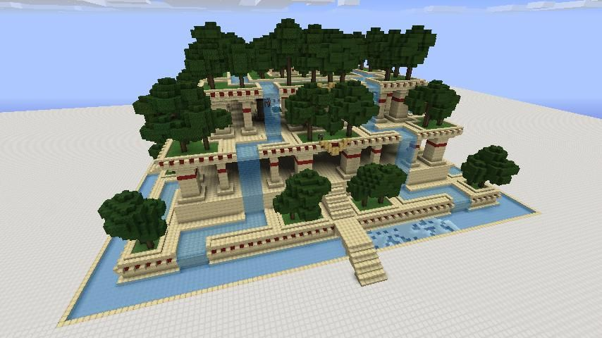 minecraft construction - Minecraft Garden Designs