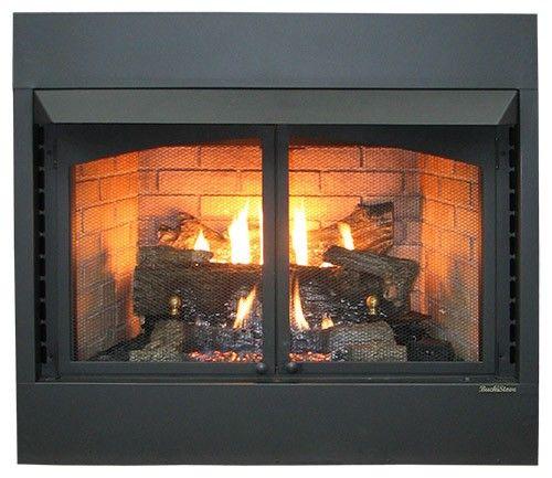 Buck Stove Model Zcbbxl 42 Inch Vent Free Gas Fireplace Propane