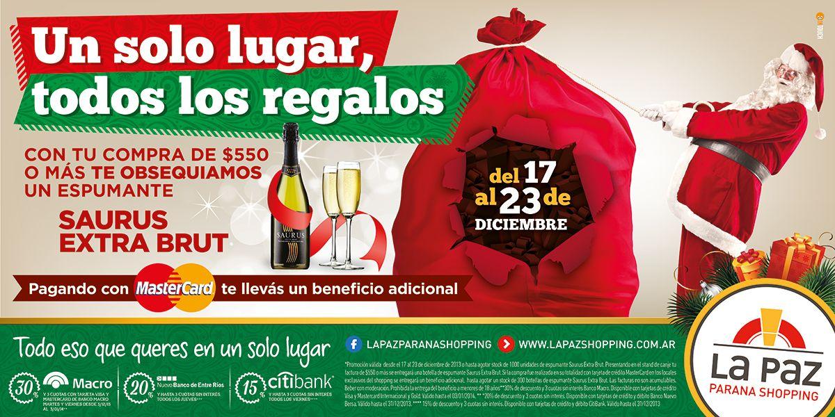 Cliente: La Paz Paraná Shopping Trabajo: séxtuple