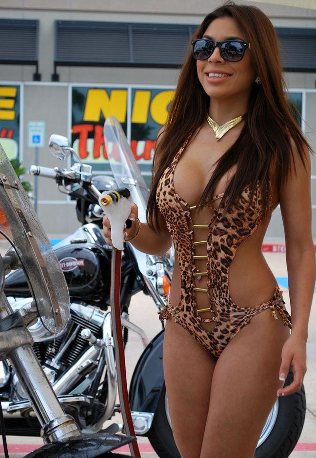 from Samir naked chicks washing bikes
