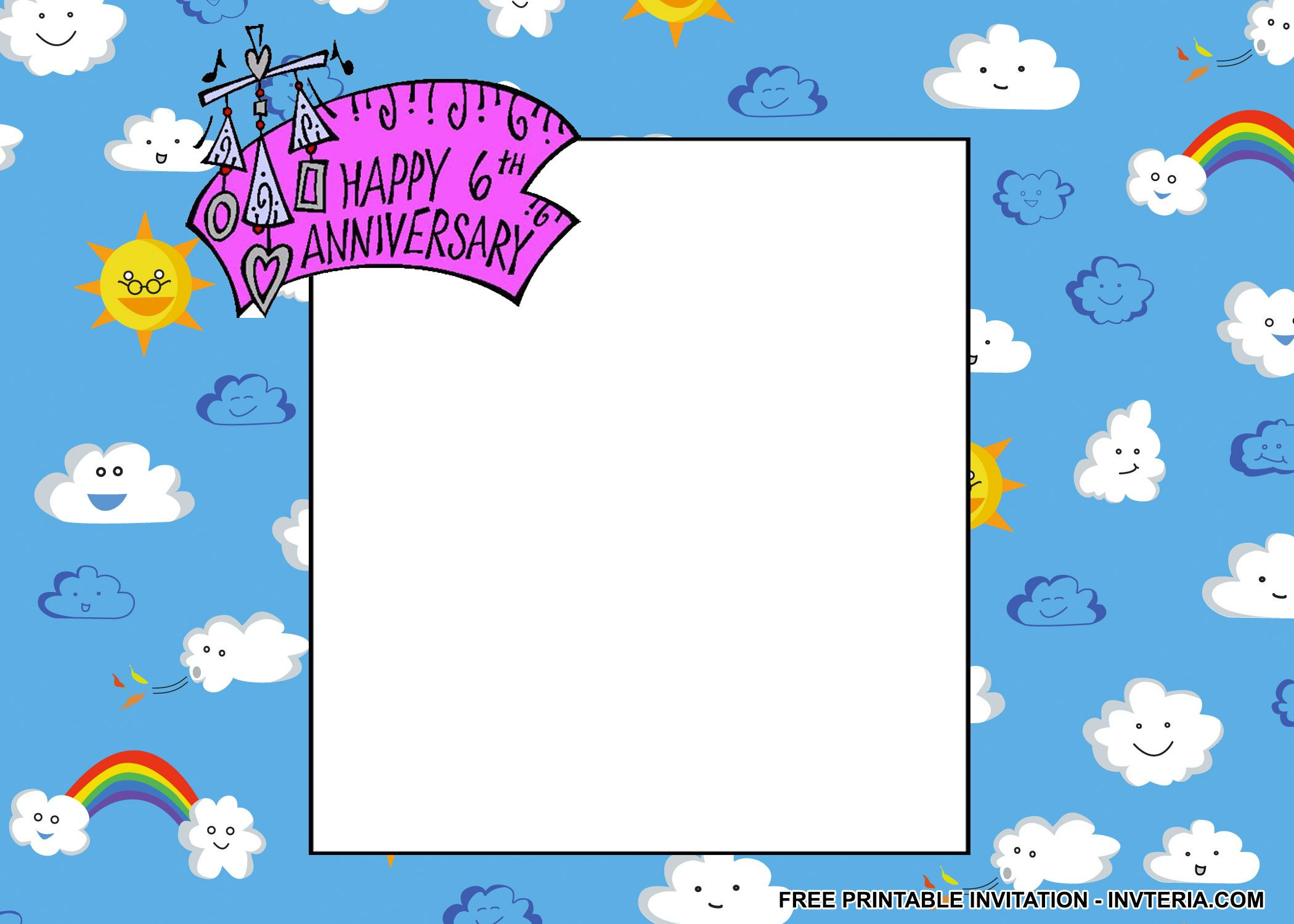 FINE FREE 6TH BIRTHDAY INVITATION WORDING IDEA
