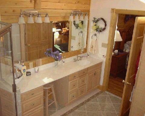 Log Home Bathroom Designs   Google Search