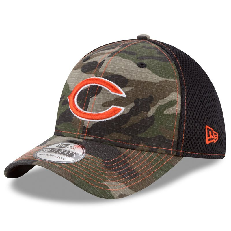 save off a4103 62d6d ... promo code for chicago bears new era woodland shock stitch neo 39thirty  flex hat camo cba05