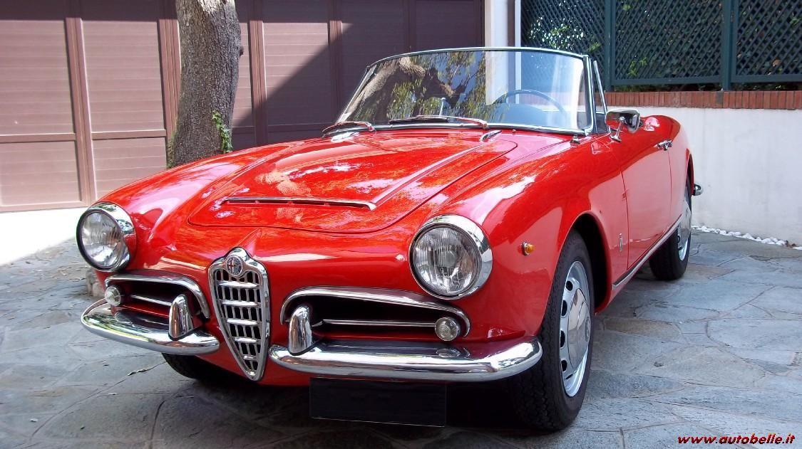 Vendo Alfa Romeo Giulia Spider 1600 Anno 1965 122395 Su