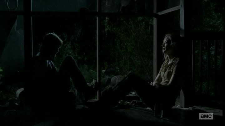 "Daryl and Beth The Walking Dead episode 412 ""Still"""